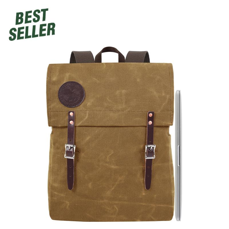 Laptop Scoutmaster Day Pack Waxed Khaki - Duluth Pack