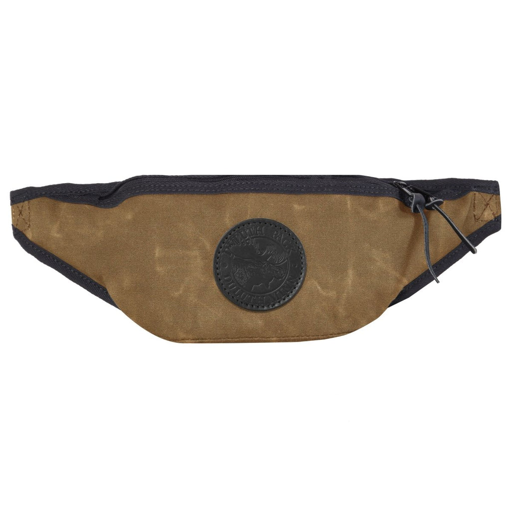 Large Fanny Pack Bags Waxed khaki - Duluth Pack