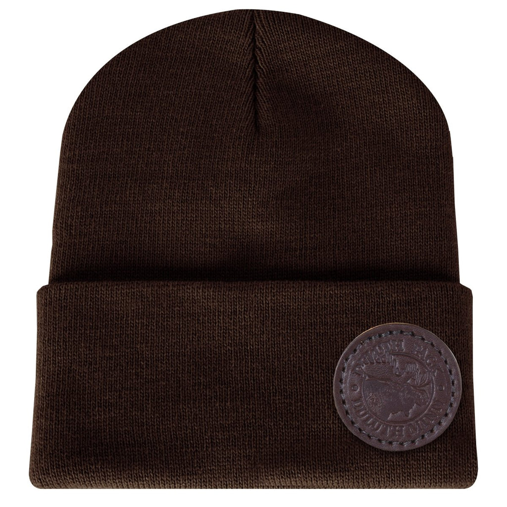Logo Beanie Apparel Dark Brown - Duluth Pack Apparel