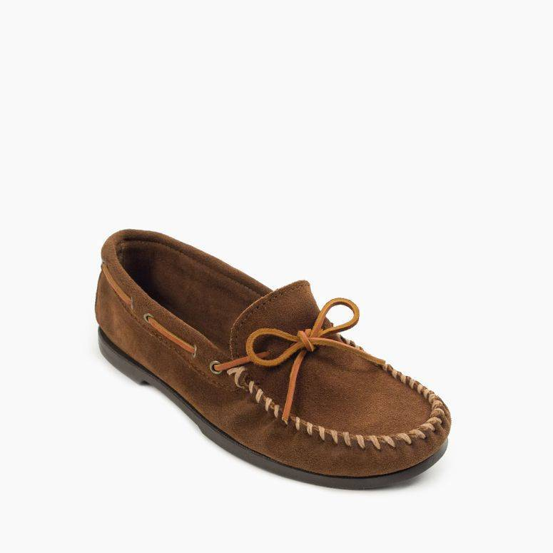 Men's Camp Moc Men's Footwear Dusty Brown / 8 - Minnetonka Moccasin