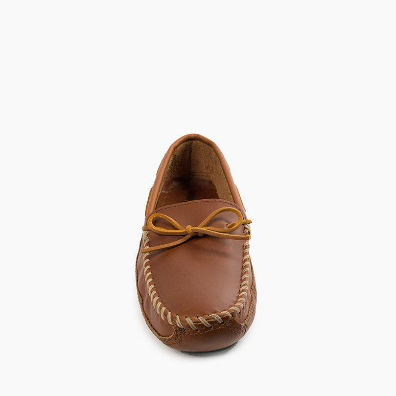 Men's Double Bottom Driving Moc Men's Footwear  - Minnetonka Moccasin