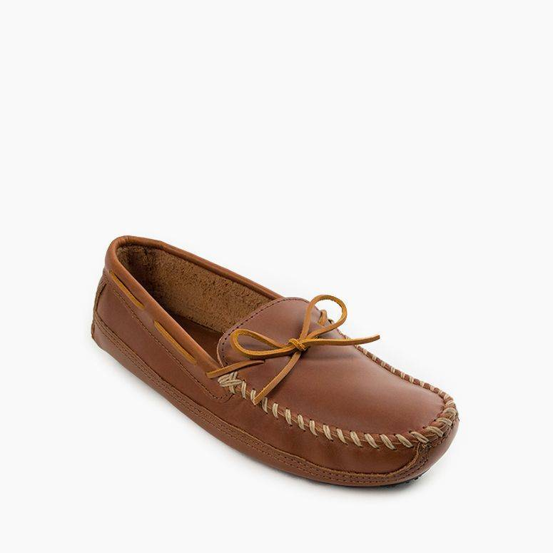 Men's Double Bottom Driving Moc Men's Footwear Chesnut / 8 - Minnetonka Moccasin