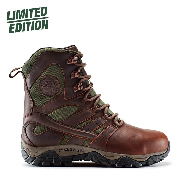 Merrell x Duluth Pack Common Threads Soft-Toe Moab Boot Boot 7 - Merrell