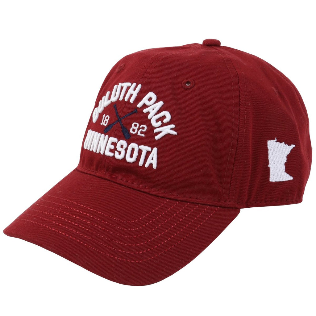Minnesota Paddle Hat Apparel Red - Duluth Pack Apparel