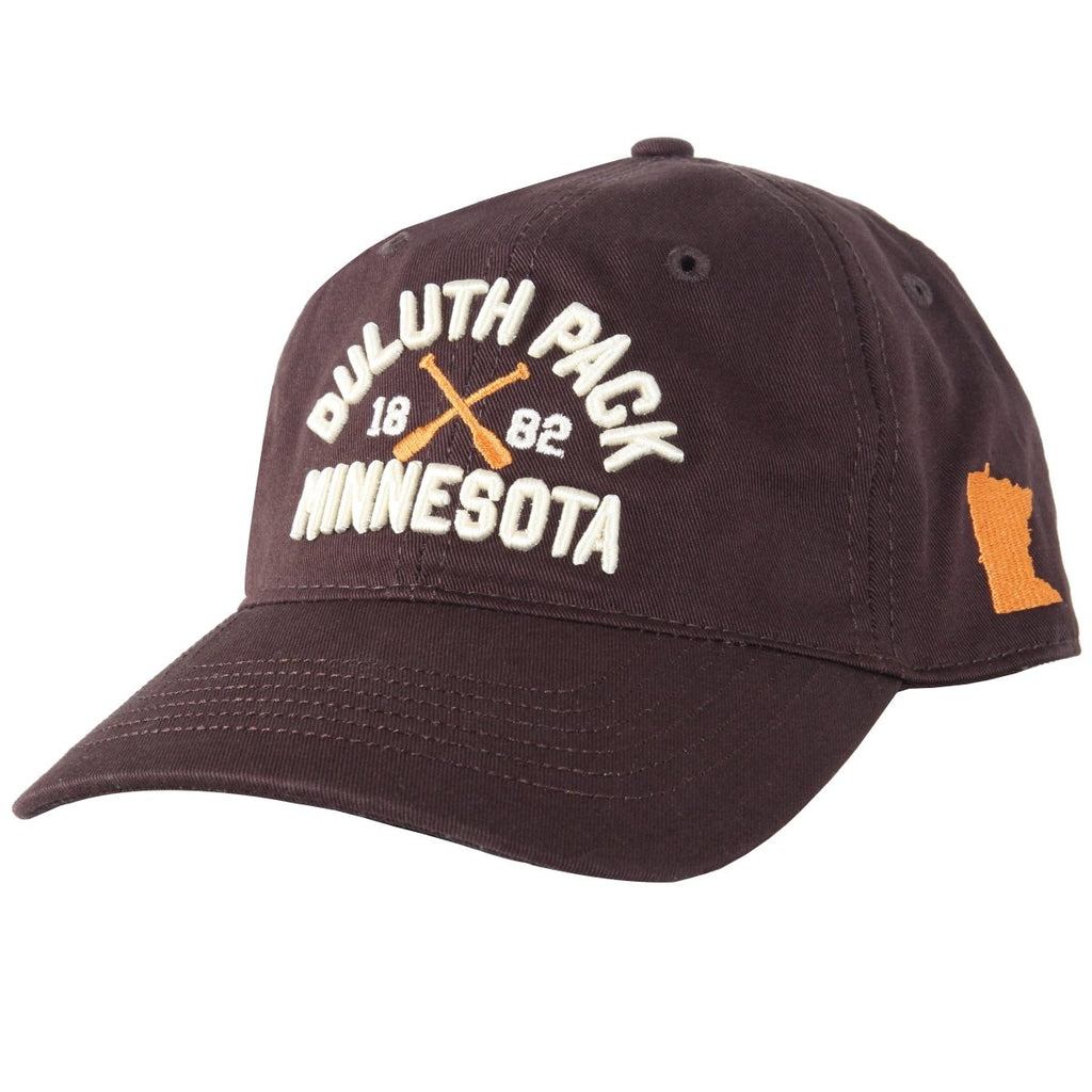 Minnesota Paddle Hat Apparel Brown - Duluth Pack Apparel