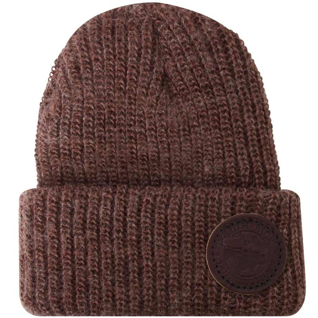 Mohair Logo Beanie Apparel Brown - Duluth Pack Apparel