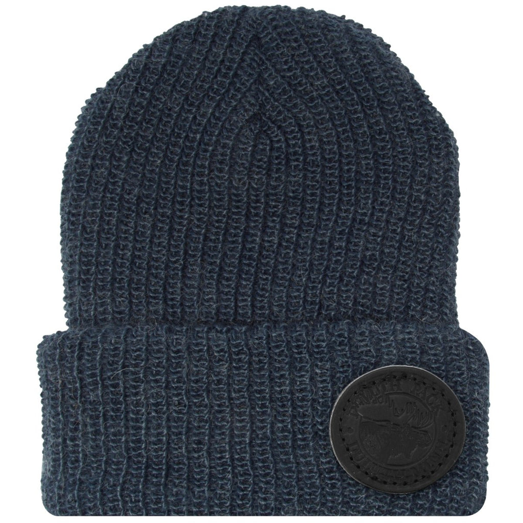 Mohair Logo Beanie Apparel Blue - Duluth Pack Apparel