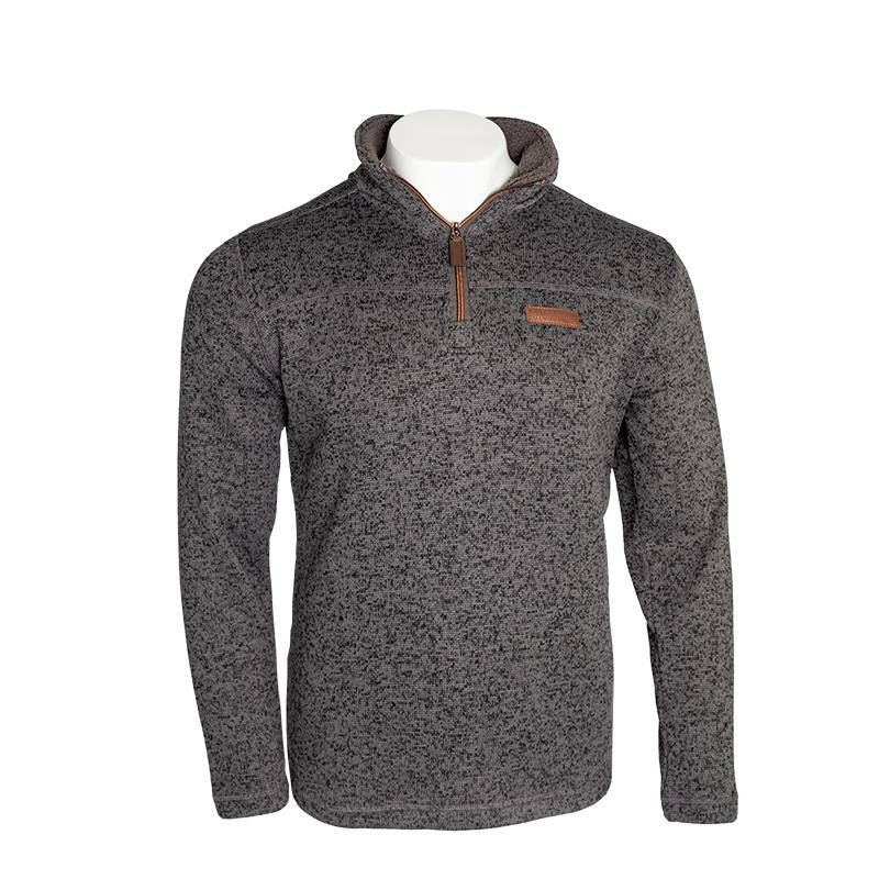 Owen 1/4 Zip Sweatshirt Apparel Charcoal / Small - Duluth Pack Apparel