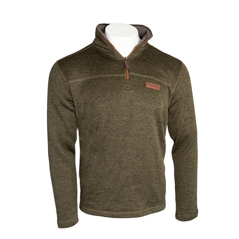 Owen 1/4 Zip Sweatshirt - FINAL SALE Apparel Olive / Small - Duluth Pack Apparel