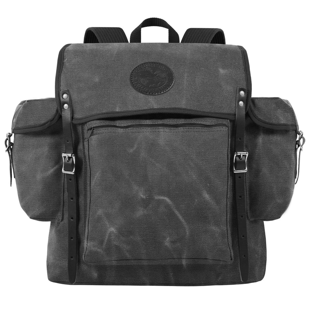 Rambler Day Pack Waxed Grey - Duluth Pack