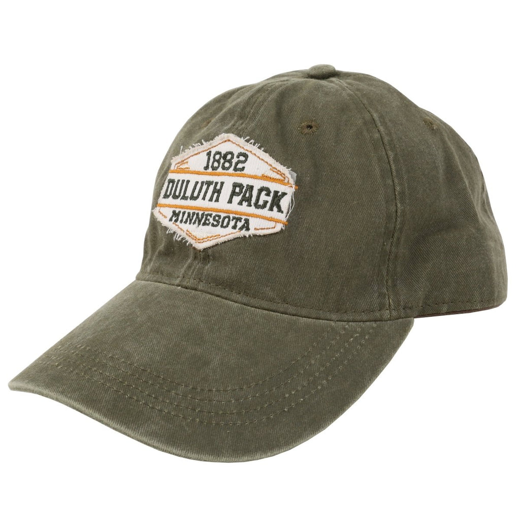Raw Patch Hat Hat Green - Duluth Pack Apparel