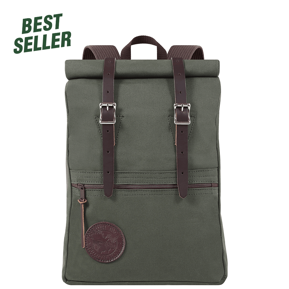 Roll-Top Scout Day Pack Olive Drab - Duluth Pack