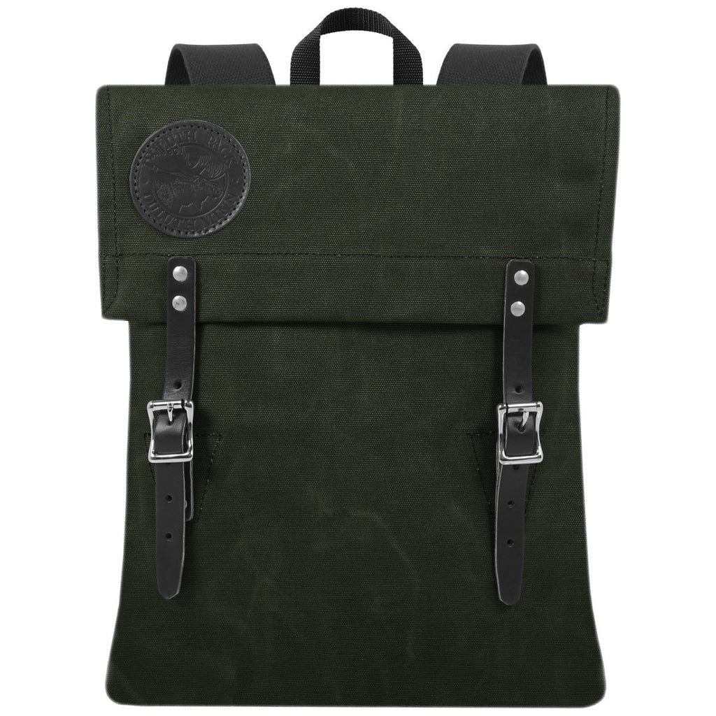 Scout Day Pack Waxed Olive Drab - Duluth Pack