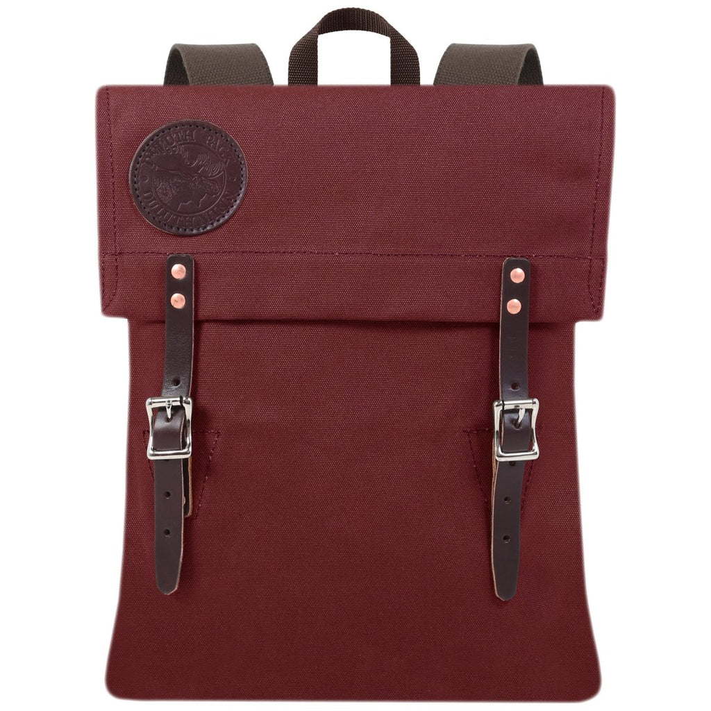 Scout Day Pack Burgundy - Duluth Pack