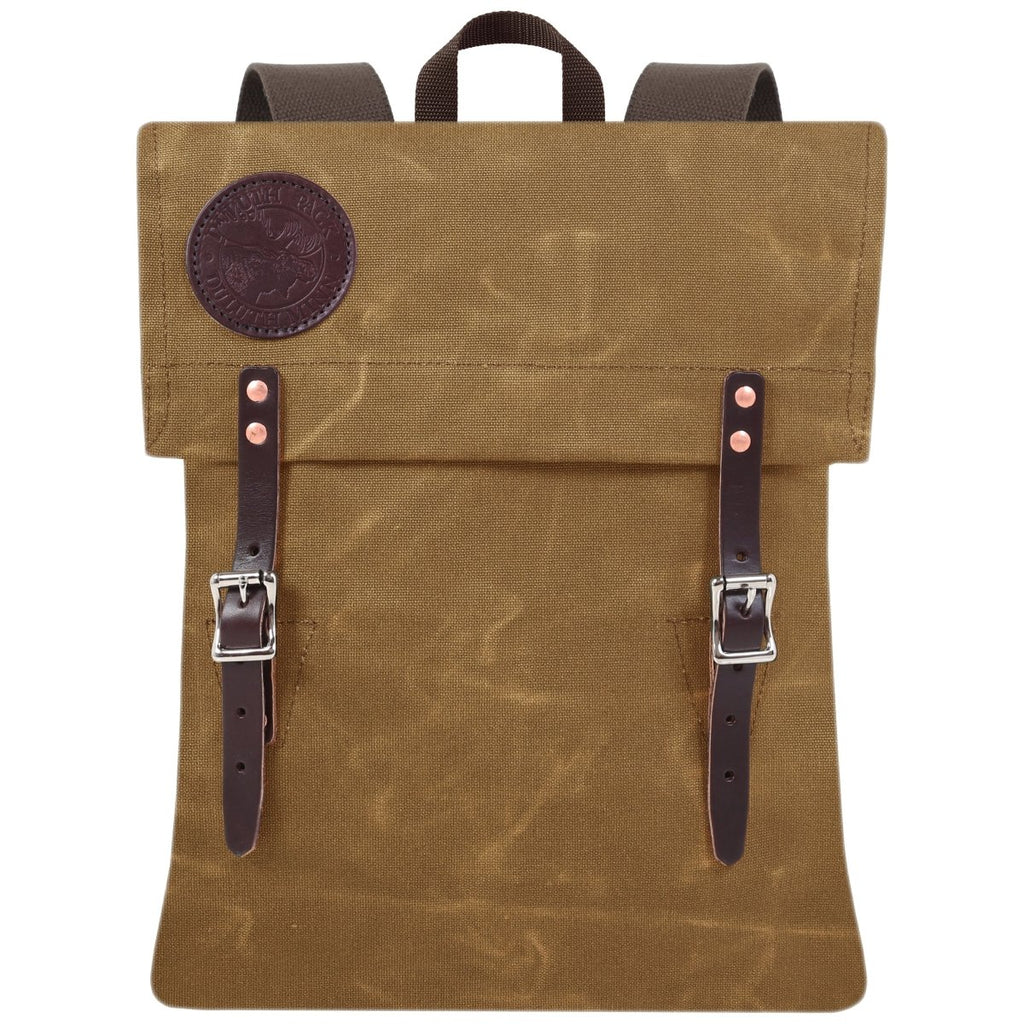 Scout Day Pack Waxed Khaki - Duluth Pack