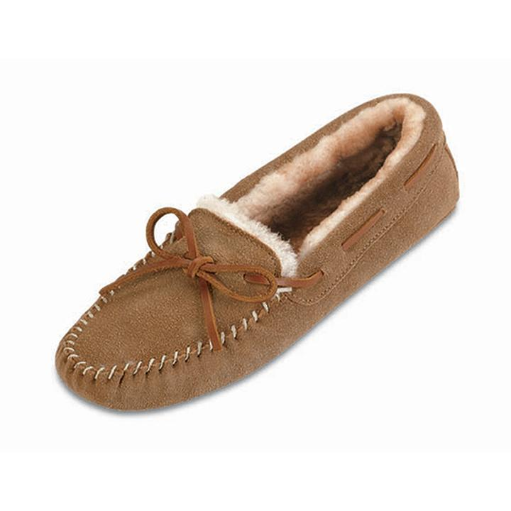 Sheepskin Softsole Moc Women's Footwear Tan / 6 - Minnetonka Moccasin