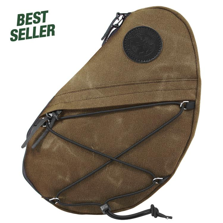 Sling Pack Packs Waxed Khaki - Duluth Pack