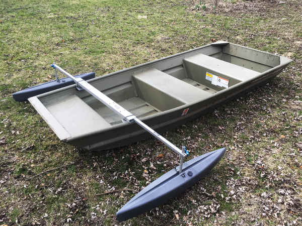Spring Creek Jon Boat Stabilizer Canoe Accessories  - Spring Creek Manufacturing