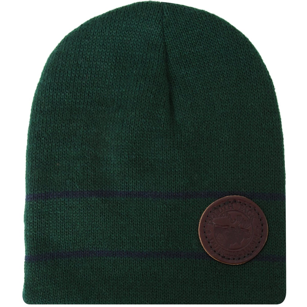 Striped Wool Logo Beanie Apparel Green - Duluth Pack Apparel