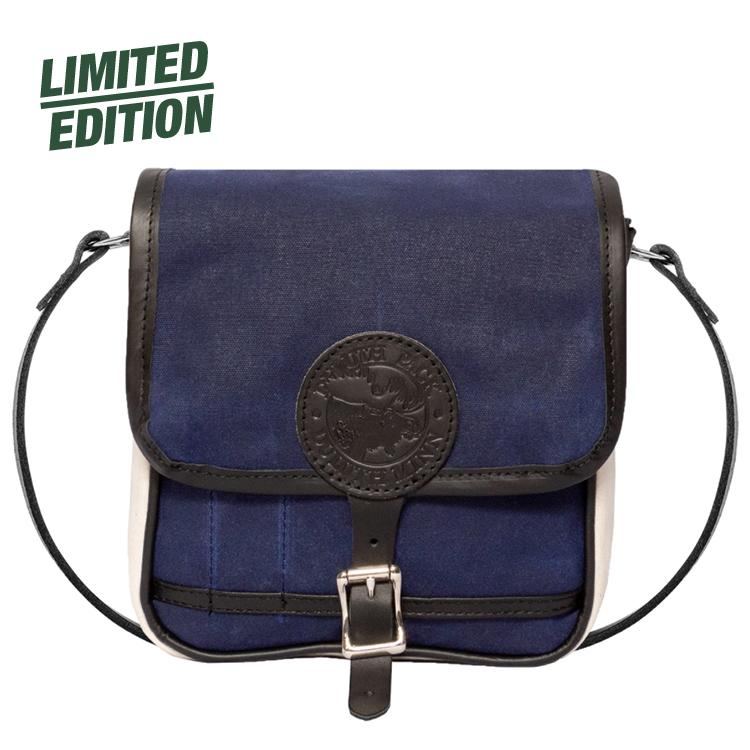 Uptown Series Mini Haversack Purse Natural Navy - Duluth Pack
