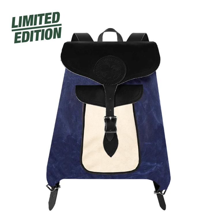 Uptown Series Rucksack Backpack - Final Sale Packs Natural Navy - Final Sale - Duluth Pack