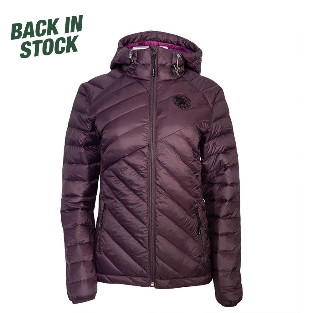 Women's Duluth Pack Light Down Slim Jacket Jacket Purple / Small - Duluth Pack Apparel