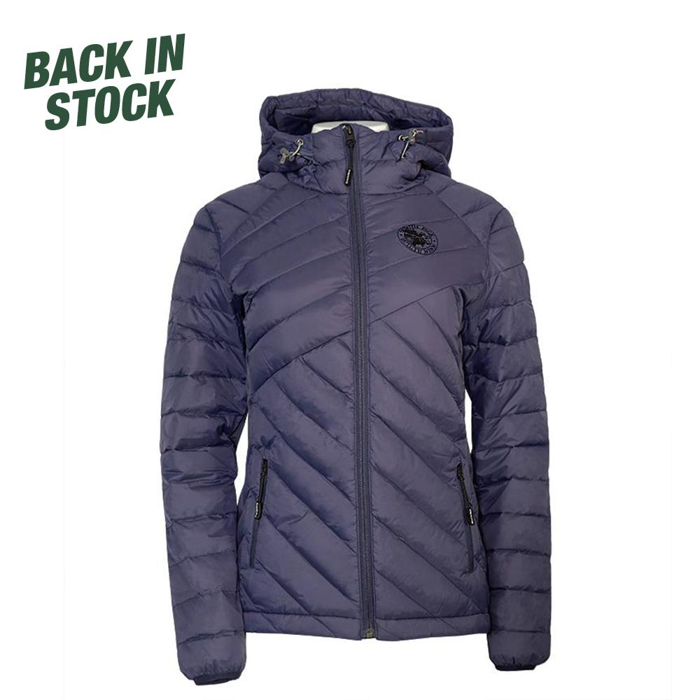 Women's Duluth Pack Light Down Slim Jacket Jacket Navy / Small - Duluth Pack Apparel