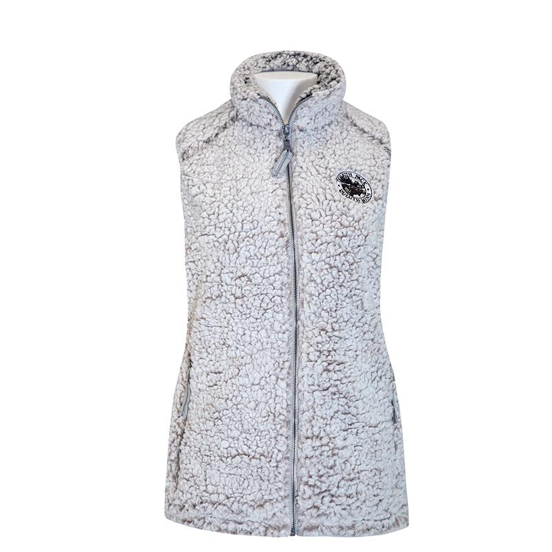 Women's Duluth Pack Sherpa Vest Apparel Small / Oat - Duluth Pack Apparel