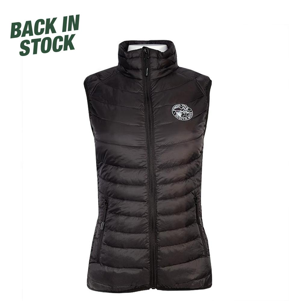 Women's Light Down Vest Vest Black / Small - Duluth Pack Apparel