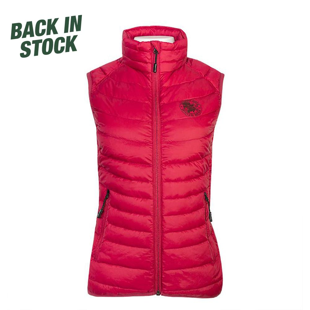 Women's Light Down Vest Vest Burgundy / Small - Duluth Pack Apparel