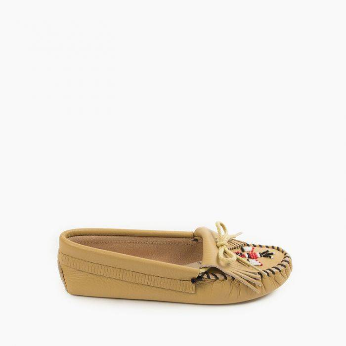 Women's Thunderbird Softsole Women's Footwear Natural / 6 - Minnetonka Moccasin