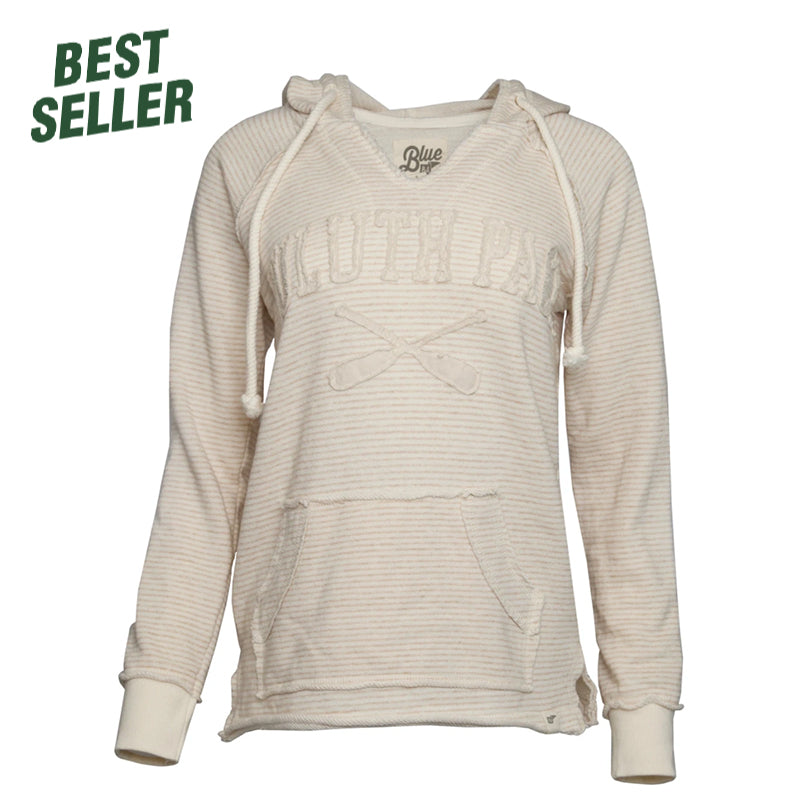 Women's X-Paddle Stripe Hoodie Apparel  - Duluth Pack Apparel