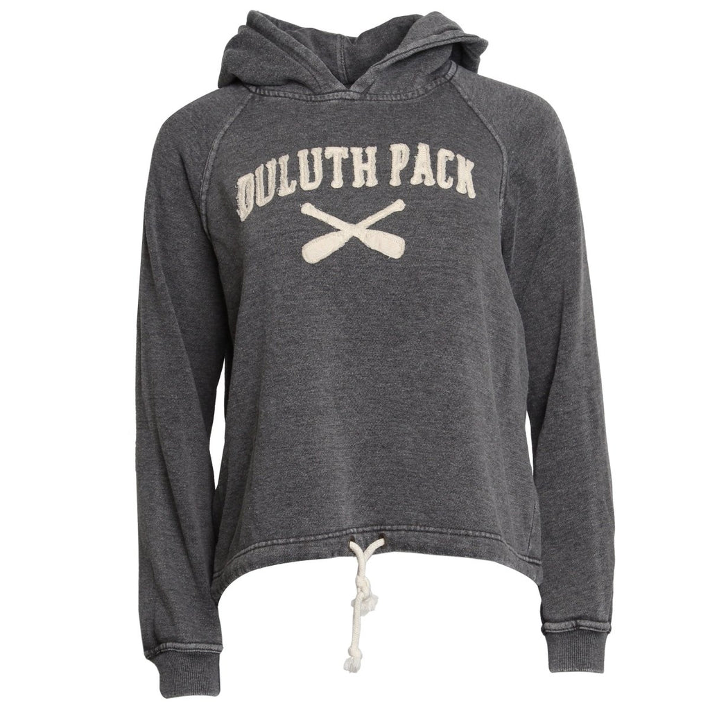 Women's X-Paddle Tie Hoodie - FINAL SALE Apparel S - Duluth Pack Apparel
