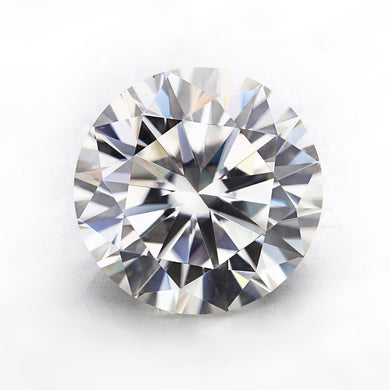 Top Quality EF Color Round Brilliant Cut 10mm 4ct Loose Moissanites Gemstone.