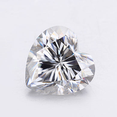 7*7mm pure white clarity jewelry moissanites stones fashion gems