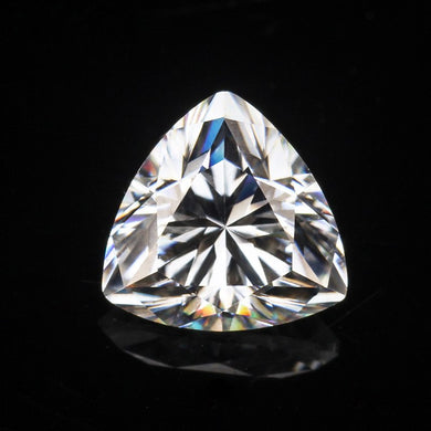 trillion cut 4*4mm synthetic diamonds stone gem loose E/F moissanites
