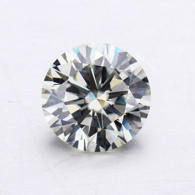 I/J near white lab created beads 3/3.5/4/4.5/5/5.5/6mm loose stones moissanites gem