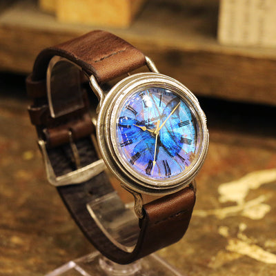 The Real Morpho butterfly Wing Watch