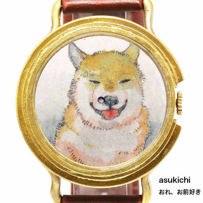 "Chrono Canvas Art Watch |  ""Hey, I Really Like You"" askichi × A Story Tokyo"