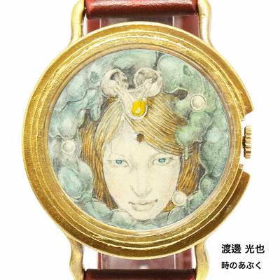 "Chrono Canvas Art Watch | ""The Foams of Time"" by Mitsuya Watanabe × A Story Tokyo"