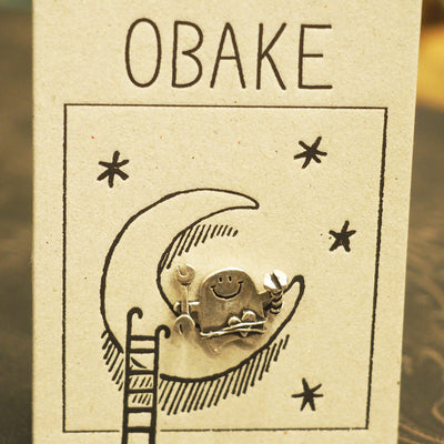 "UKENMUKEN | ""I'll repair for you"" OBAKE Ghost Handmade Earring (One Ear)"