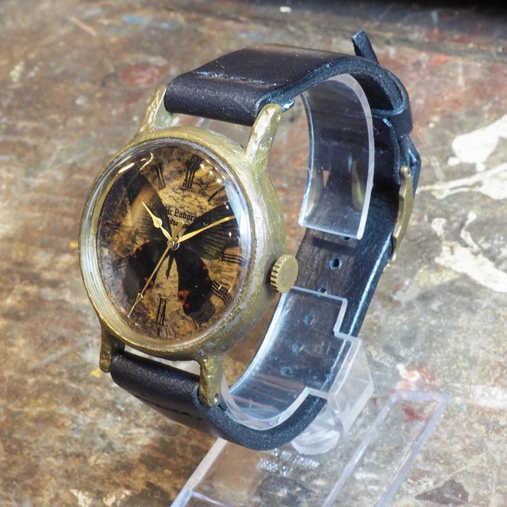 Gothic Laboratory | Classic Wristwatch Papilio Protenor | Original Handmade Watches from Japan