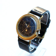 A Story | Vintage Military Watch (Black) | Unique Retro Original Handmade Watches from Japan