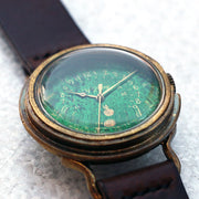 A Story | Vintage Military Watch (Green) | Original Handmade Watches from Japan