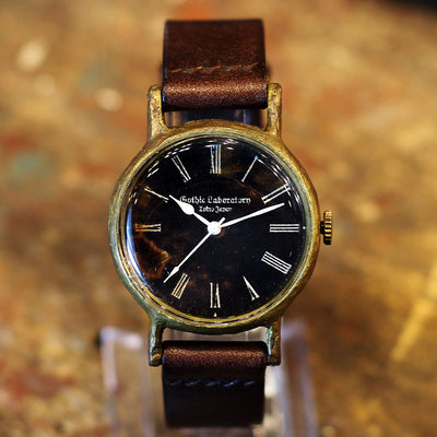 Gothic Laboratory | Classic Wristwatch Black index | Original Handmade Watches from Japan