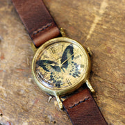 Gothic Laboratory | Classic Wristwatch Papilio Polymnestor | Original Handmade Watches From Japan