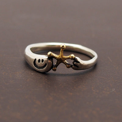 UKENMUKEN | I brought it for you! OBAKE ghost Ring Star  | Japanese Designer Handmade Jewelry