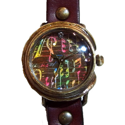 "Chrono Canvas Art Watch | ""Set on Notes"" by Chiaki Adaka × A Story Tokyo"