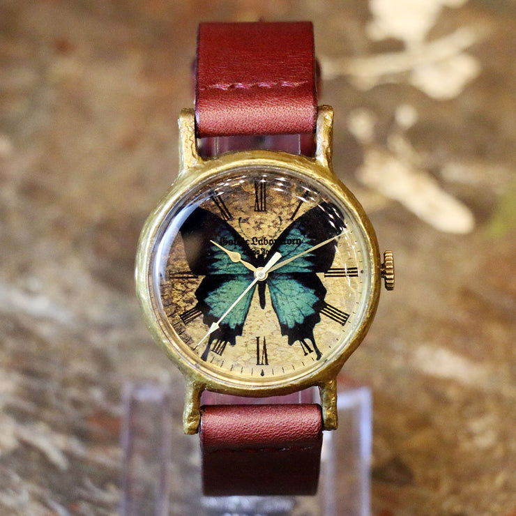 Gothic Laboratory | Classic Wristwatch Papilio Ulysses | Original Handmade Watches from Japan