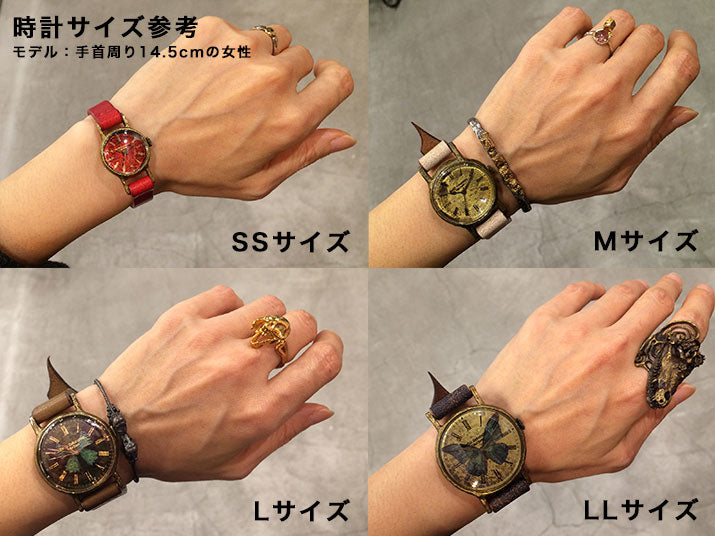 Gothic Laboratory | Classic Wristwatch Honey Bee | Original Handmade Watches from Japan